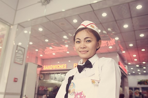Our Johnny Rockets Waitress